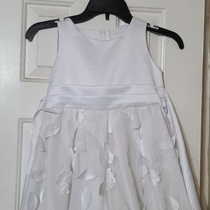 Other - Girls white party dress.